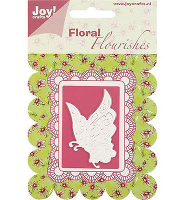 Joy Crafts Floral Flourishes Die Cutting Stencil - Butterfly -