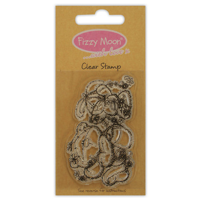 FRIENDSHIPS FIZZY MOON CLEAR STAMPS GREAT FOR CRAFTS