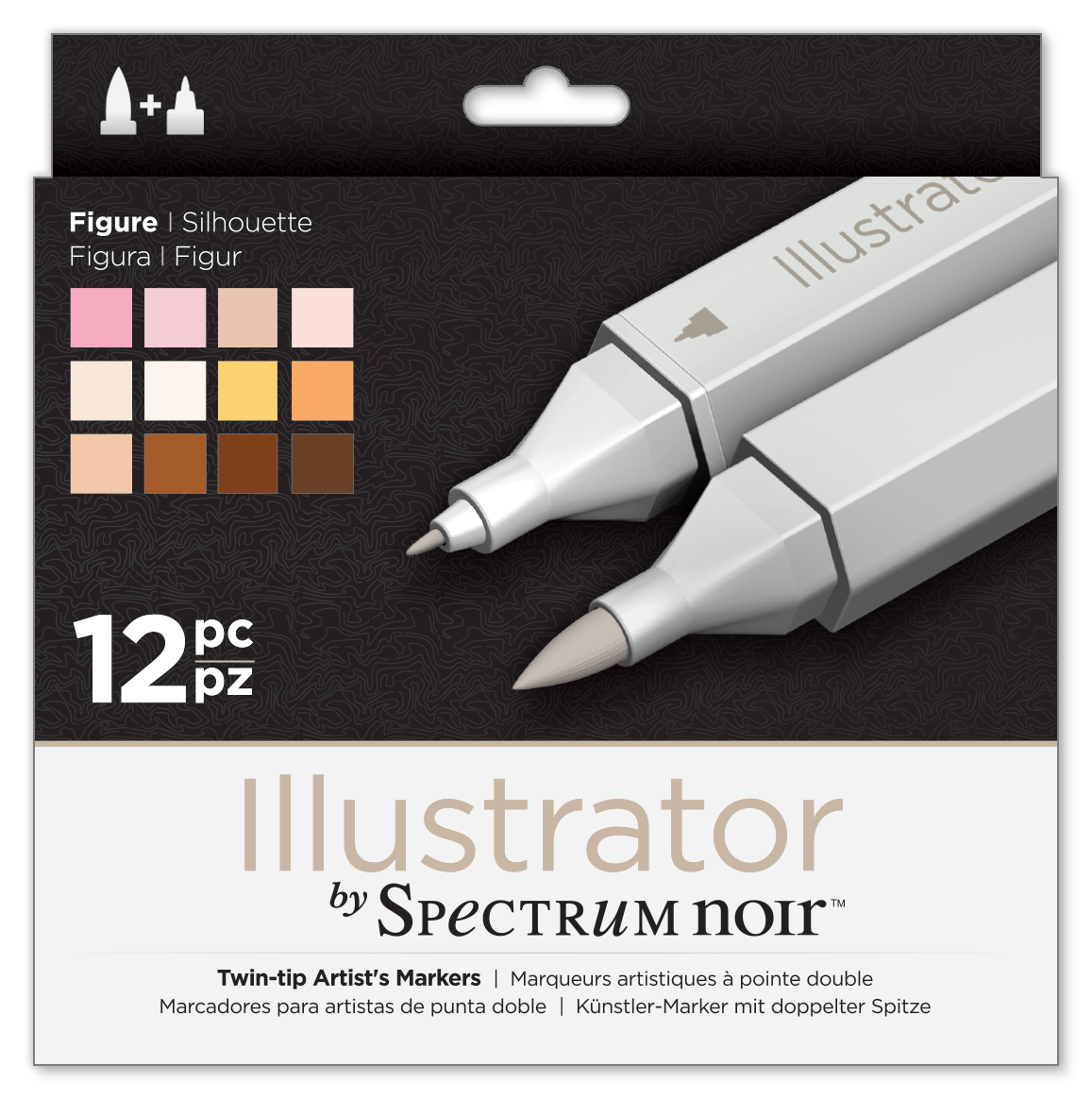 ILLUSTRATOR Pens New Product Crafters Companion Spectrum Noir