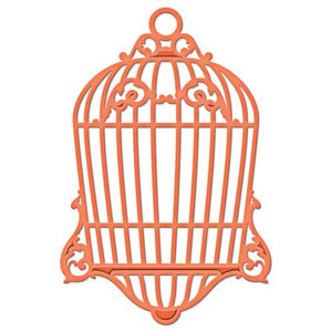 Spellbinders S3-203 - Shapeabilities  Die D Lites Bird Cage Two